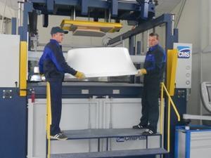 Описание: Вакуум формовочное оборудование - машина SMS-Plast серия BR/5.